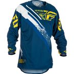 Navy/Yellow/White Evolution 2.0 Jersey - 371-221L