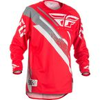 Red/White/Grey Evolution 2.0 Jersey - 371-222L