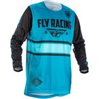 Youth Blue/Black Kinetic Era Jersey - 371-421YL