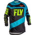 Youth Blue/Black F-16 Jersey - 371-921YL