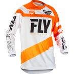 Youth Orange/White F-16 Jersey - 371-928YL