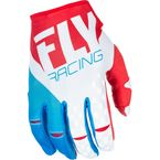 Youth Red/White/Blue Kinetic Gloves - 371-41306