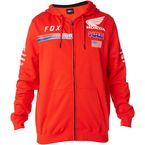 Red Honda HRC USA Zip Hoody - 20819-003-S