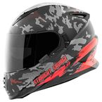 Red/Black Straight Savage SS1600 Helmet - 884523