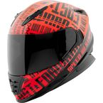Red/Black Fast Forward SS1310 Helmet - 884548