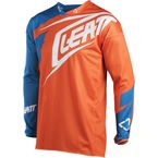 Orange/Denim GPX 4.5 X-Flow Jersey - 5018700212