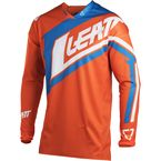 Junior/Kids Orange/Denim GPX 2.5 Jersey - 5018700284