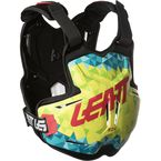 Lime/Teal 2.5 Rox Chest Protector - 5018100200