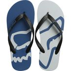 Dusty Blue Beached Flip Flops - 22142-157-L