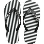 Women's Black/White Jail Break Flip Flops - 21243-018-L