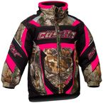 Toddler Hot Pink Bolt G4 Realtree Jacket - 72-6292