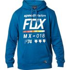 Dust Blue District 2 Pullover Hoody - 19691-157-L