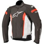 Black/White/Red T-Missile Drystar Jacket - 3200518-1231-L