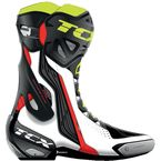 White/Red/Yellow Fluorescent RT Race Pro Air Boots - 7651 BIRY 44