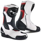 White/Black/Red SP Master Air Boots - 7666 BNRO 46