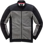 Black Speed Zip-Up Fleece - 10385100510L