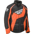Black/Orange Outpost Jacket - 470-4098L