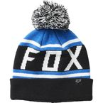 Black/Blue Throwback Beanie - 22255-013-OS