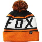 Black/Orange Throwback Beanie - 22255-016-OS