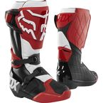 Red/Black/White Comp R Boots - 22959-056-10