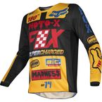 Youth Black/Yellow 180 Czar Jersey - 21746-019-M