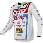 White/Red/Blue 180 RWT Special Edition Jersey - 20843-574-L