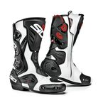 White/Black Roarr Boots - SIS-ROR-BKWH-44