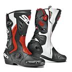 Black/Red Flo/White Roarr Boots - SIS-ROR-BFRW-44