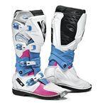 Women's Pink/White/Light Blue X-3 LEI Boots - SID-X3L-PWLB-43
