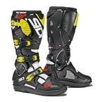 White/Black/Flo Yellow Crossfire 3 SRS Boots - SID-C3S-WBFY-44