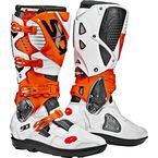 Orange/White/Black Crossfire 3 SRS Boots - SID-C3S-OWHB-44