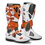 Orange/White/Black Crossfire 3 TA Boots - SID-C3T-OWHB-44