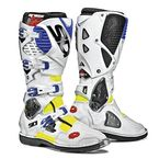 Flo Yellow/White/Blue Crossfire 3 TA Boots - SID-C3T-FYWB-44