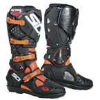 Black/Flo Orange Crossfire 2 SRS Boots - SID-C2S-BKFO-44