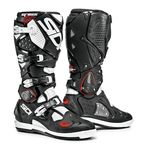 Black/White Crossfire 2 SRS Boots - SID-C2S-BKWH-46