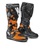 Black/Flo Orange X-3 SRS Boots - SID-X3S-BKFO-44
