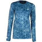 Women's Blue Solstice 2.0 Base Layer Shirt - 3201-002-140-200