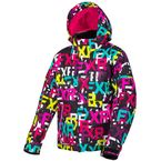 Child's Black FXR/Fuchsia Fresh Jacket - 190418-1290-04