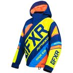 Child's Navy/Hi-Vis/Orange/Blue CX Jacket - 190422-4565-06