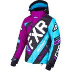 Women's Wineberry/Black/Aqua CX Jacket - 190221-8510-12