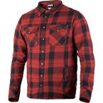 Maroon/Black Timber Plaid Shirt - 181106-2510-19