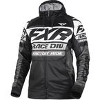 Black/White Race Division Tech Zip Hoody - 191113-1001-13
