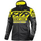 Black/Hi-Vis Race Division Tech Zip Hoody - 191113-1065-13