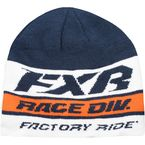 Navy/Orange/White Race Division Beanie - 191625-4530-00