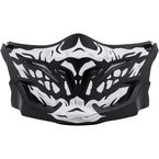 Black/White Covert Skull Face Mask - 52-546-18