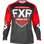 Youth Black/Red/White Clutch Retro MX Jersey - 193324-1020-07
