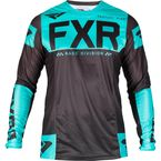 Black/Mint Helium MX Jersey - 193309-1052-13