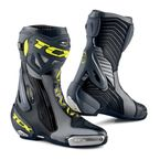 Black/Gray/Yellow Flu RT-Race Pro Air Boots - 426-20444