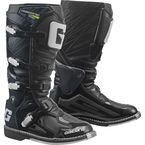 Black Fastback Boots - 2196-001-11