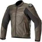 Caliber Leather Jacket - 3107319-80-58